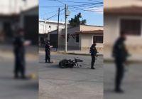 Motociclista resultó gravemente herido tras protagonizar un terrible accidente