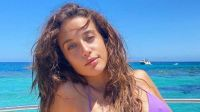 María Pedraza enseñó el tamaño real de su retaguardia con esta fotografía en bikini