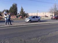 CHOQUE EN CADENA: al menos cuatro autos terminaron dañados