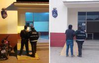 Tras un arduo trabajo, se logró la detención de dos peligrosos delincuentes