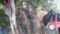 Subía fotos de animales muertos y armas: fue identificado y lo interceptaron