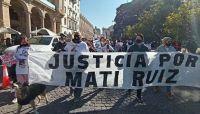 Marcha por Matías Ruiz. Fuente: (Twitter)