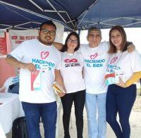 Urundel: vivió una situación difícil y ahora ayuda a buscar donantes de sangre